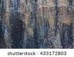 aged rusted background with... | Shutterstock . vector #433172803