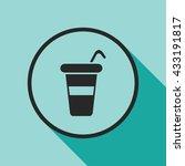 takeaway cup icon. takeaway... | Shutterstock .eps vector #433191817