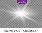 abstract image of lighting... | Shutterstock .eps vector #433205137