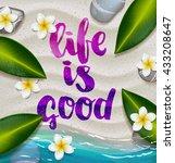vector trendy hand lettering...   Shutterstock .eps vector #433208647