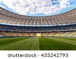 soccer football field stadium | Shutterstock . vector #433242793