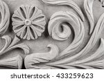 gypsum products  stucco weave ... | Shutterstock . vector #433259623