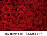 Red Roses In A Decorative...