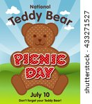 Teddy Bear Picnic Day Poster ...