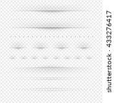 set of dividers big set... | Shutterstock .eps vector #433276417