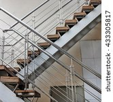 stair of outdoor emergency exit ... | Shutterstock . vector #433305817