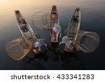 Traditional Burmese Fishermen...