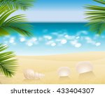 Sandy Beach Tropical Cost...