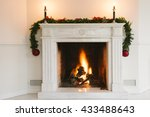 Fireplace With Christmas...