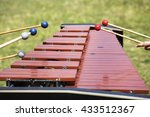 Xylophone With Playing Hands....