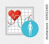 personal health design  | Shutterstock .eps vector #433521403