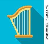 Harp Icon  Harp Icon Eps10 ...