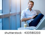 portrait of a young businessman ... | Shutterstock . vector #433580203