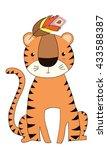 tiger   Shutterstock .eps vector #433588387