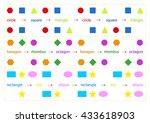 children's games for the mind   Shutterstock .eps vector #433618903