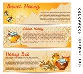Horizontal Honey Banner Set...