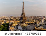 Panorama Of Paris With The...