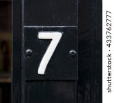 House Number Seven  7