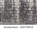 old textured wall background | Shutterstock . vector #433778413