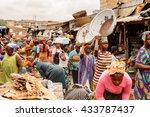 accra  ghana   march 4  2012 ... | Shutterstock . vector #433787437