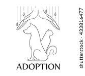 emblem for the organization for ... | Shutterstock .eps vector #433816477