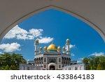 jame'asr hassanil bolkiah... | Shutterstock . vector #433864183