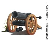 A Cannon With Cannonballs....