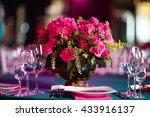 Flower Arrangement In Bowl Wit...