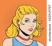 people design. pop art icon.... | Shutterstock .eps vector #433919707