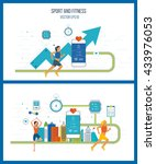 investment in education.... | Shutterstock .eps vector #433976053