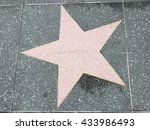 a big star on the ground | Shutterstock . vector #433986493
