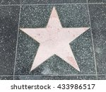 a big star on the ground | Shutterstock . vector #433986517