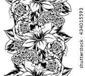 abstract elegance seamless... | Shutterstock . vector #434015593