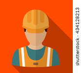 worker icon | Shutterstock .eps vector #434128213
