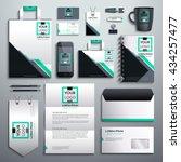 realistic vector. classic... | Shutterstock .eps vector #434257477