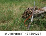 hunting items. hunting concept. ... | Shutterstock . vector #434304217