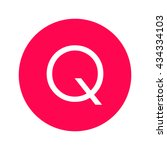 the letter q icon  the letter q ...