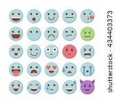 emoticon emoji set icon design...