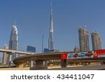dubai  uae   may 14  2016 ... | Shutterstock . vector #434411047