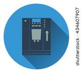 kitchen coffee machine icon....