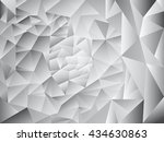 abstract geometric vector... | Shutterstock .eps vector #434630863