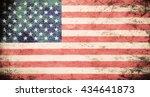 flag of usa | Shutterstock . vector #434641873
