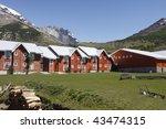 refugio in torres del paine ... | Shutterstock . vector #43474315