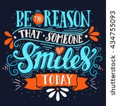 be the reason that someone... | Shutterstock .eps vector #434755093
