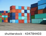 colorful steel container