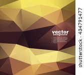 vector abstract geometric... | Shutterstock .eps vector #434791477