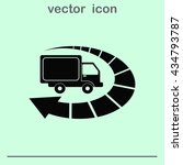 auto truck icon  car icon.... | Shutterstock .eps vector #434793787