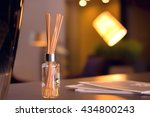 reed diffuser in high end... | Shutterstock . vector #434800243