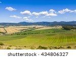 rural summer landscape in spis... | Shutterstock . vector #434806327