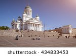 Senate Square And St. Nicholas...